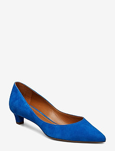 LUXE SUEDE-SABRYNA-PM-DRS - COBALT
