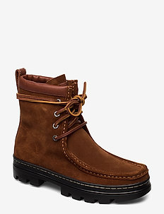 MIKAYLA-BOOTS-CASUAL - flat ankle boots - snuff