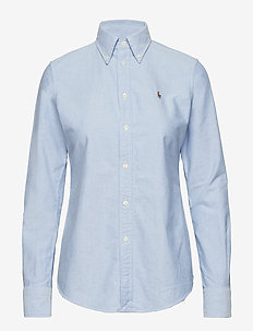 Custom Fit Cotton Oxford Shirt - BSR BLUE