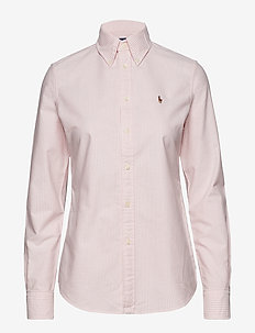 Custom Fit Cotton Oxford Shirt - BSR PINK/WHITE