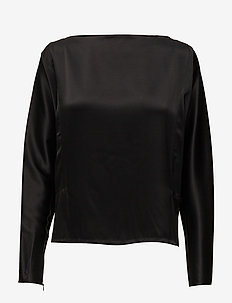 LS SIE TP-LONG SLEEVE-SHIRT - BLACK