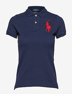 Skinny-Fit Big Pony Polo Shirt - pikeepaidat - newport navy