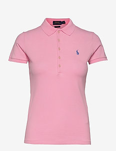 Slim Fit Polo Shirt - poloskjorter - carmel pink