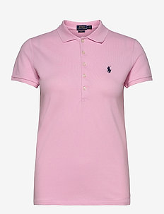 Slim Fit Polo Shirt - pikeepaidat - country club pink