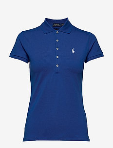 Slim Fit Polo Shirt - pikeepaidat - heritage blue
