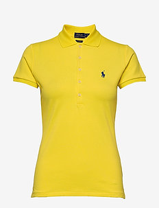 Slim Fit Polo Shirt - pikeepaidat - lemon crush