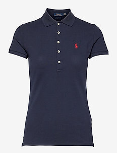 Slim Fit Polo Shirt - pikeepaidat - newport navy
