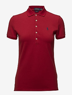 Slim Fit Polo Shirt - pikeepaidat - rl2000 red/navy p