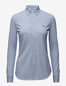 Slim Fit Oxford Shirt - HARBOR ISLAND BLUE
