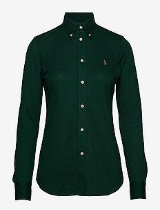 Slim Fit Oxford Shirt - HUNT CLUB GREEN