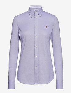 Slim Fit Oxford Shirt - HYACINTH