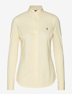 Slim Fit Oxford Shirt - WICKET YELLOW