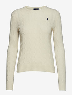 Wool-Cashmere Crewneck Sweater - CREAM