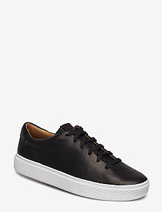 Court 125 Leather Sneaker - BLACK