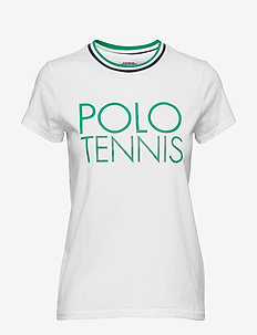 Wimbledon Cotton Graphic Tee - PURE WHITE