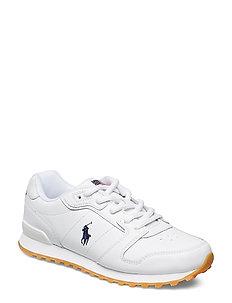 Classic Runner Leather Sneaker - WHITE