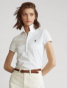Slim Fit Polo Shirt - koszulki polo - white