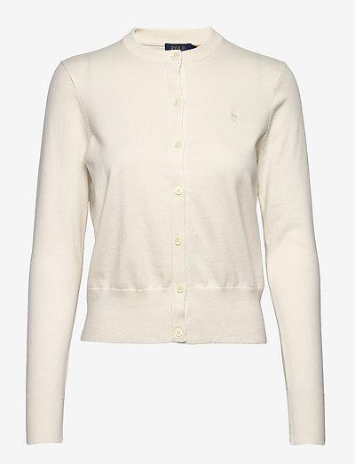 PIMA JSY STRETCH-LSL-SWT - cardigans - collection cream