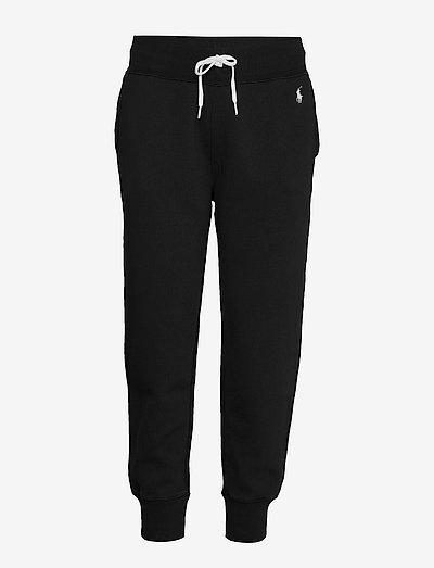 Fleece Sweatpant - sweatpants - polo black