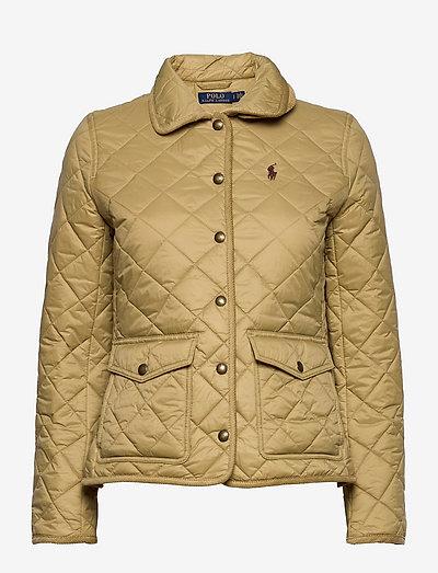Cropped Barn Jacket - quiltede jakker - desert tan