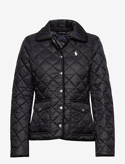 Cropped Barn Jacket - stepētas virsjakas - polo black