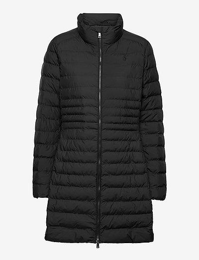 Packable Long Jacket - dynefrakke - polo black