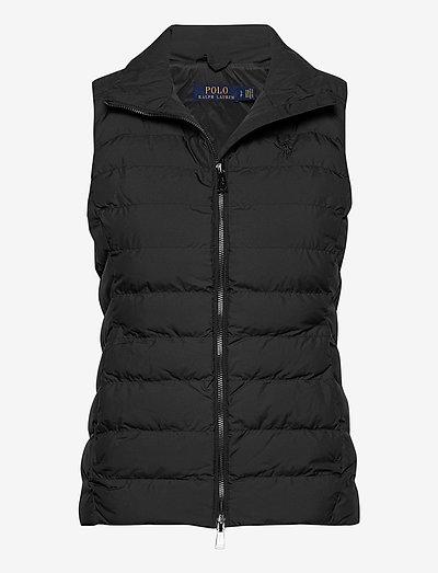 Packable Vest - vatteret veste - polo black