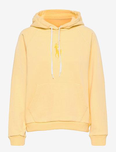 Big Pony Fleece Hoodie - hættetrøjer - wicket yellow