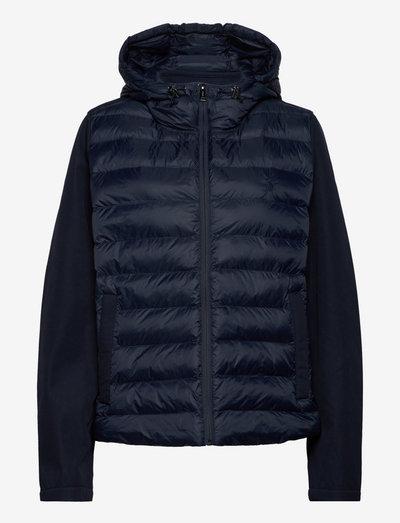 Water-Repellent Hybrid Jacket - ziemas jakas - navy
