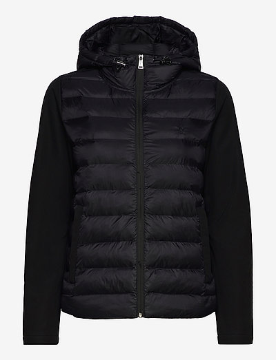 Water-Repellent Hybrid Jacket - ziemas jakas - polo black