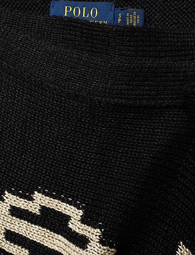 Polo Ralph Lauren Silk Linen Blend-skt- Röcke Black/cream Multi