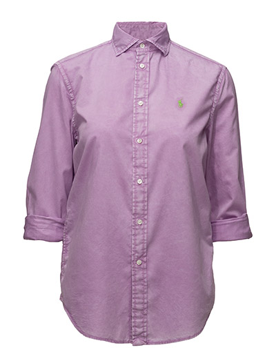 Relaxed-Fit Cotton Shirt - NEW HIBISCUS