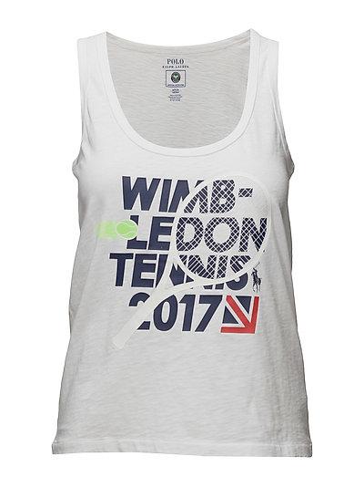 Wimbledon Tank - WHITE