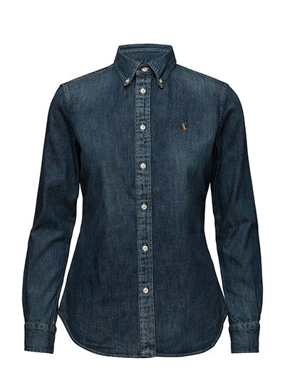 4d72a617be Custom-fit Denim Shirt (Blaine Wash) (£109) - Polo Ralph Lauren ...