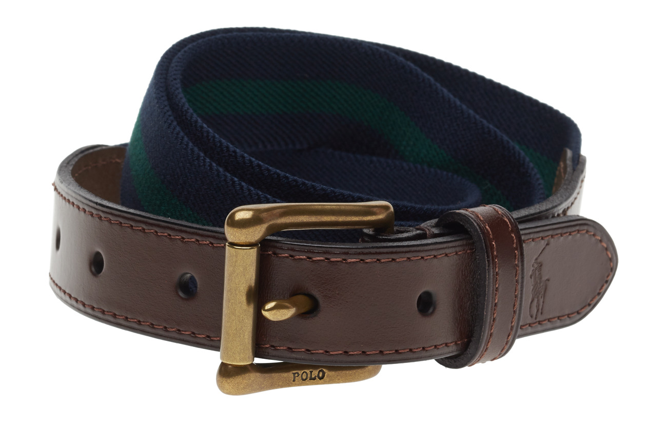 trim Lauren nw FrsPolo Ralph Beltfrench Nvy Stretch Leather JTcF1lK