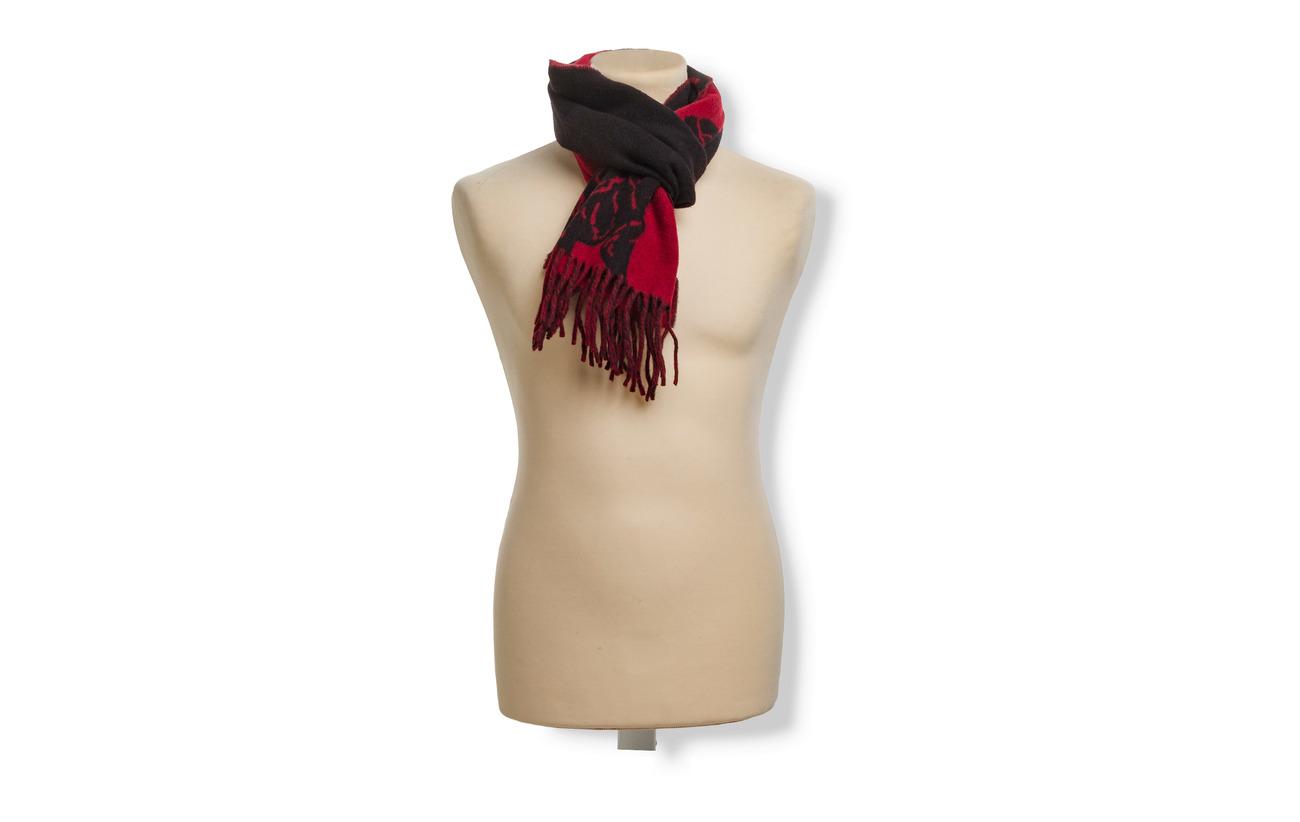 Lauren nylon bpp Ralph Jacquardblack Wool redPolo FuKJT1cl3