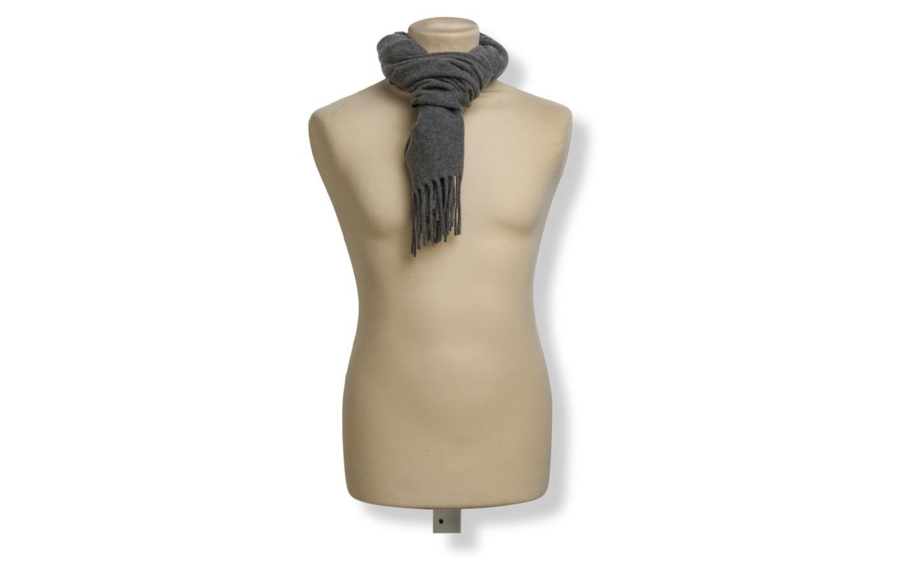 Scarffawn Grey HthrPolo Wool Fringed Ralph Lauren Y6g7ybfv