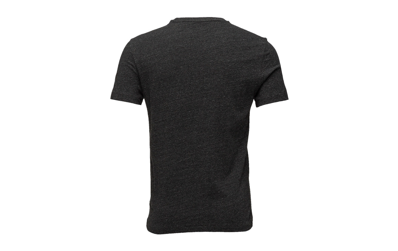 T Polo Fit Ralph shirt Navy Cotton Heathe Slim Custom Lauren Worth qw1OYqP
