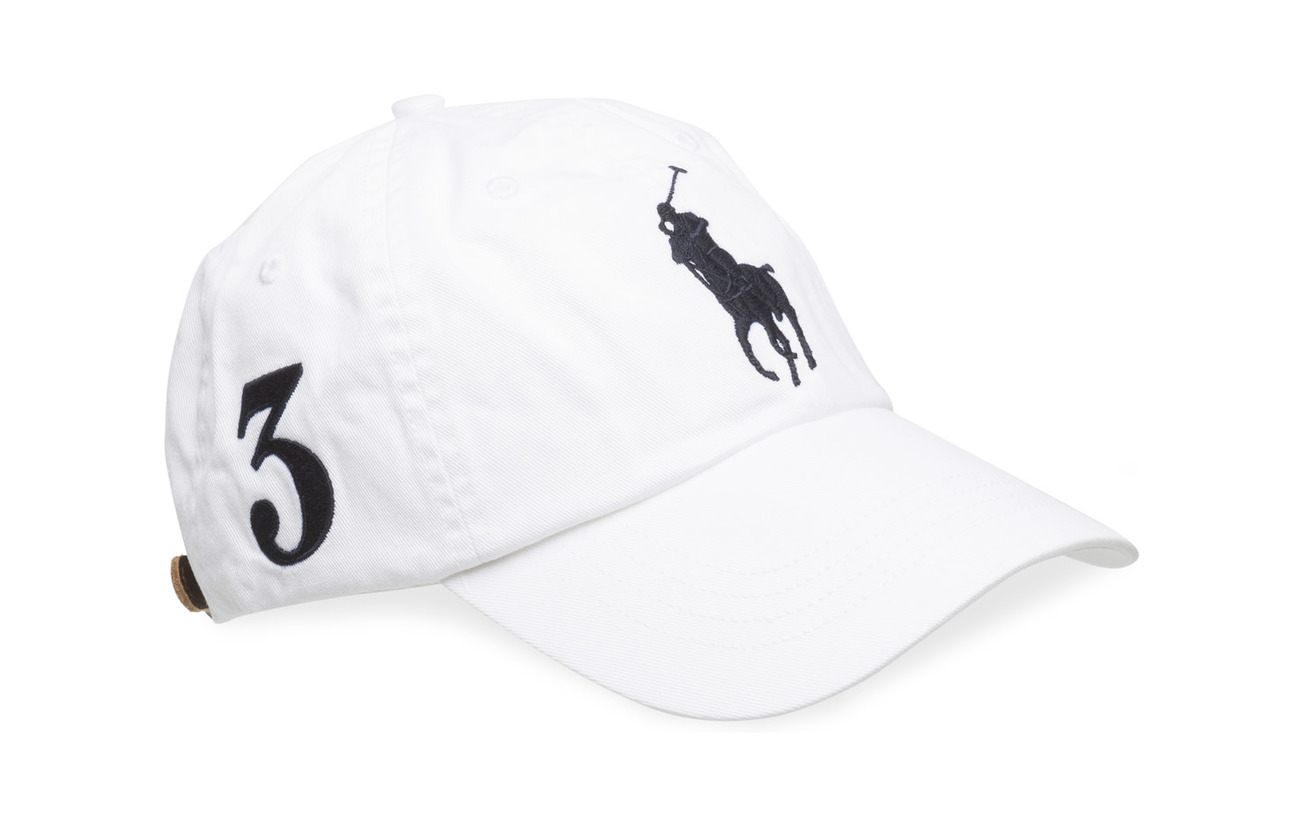 Cotton Chino Baseball Cap (White) (£45) - Polo Ralph Lauren ... e330b10d635