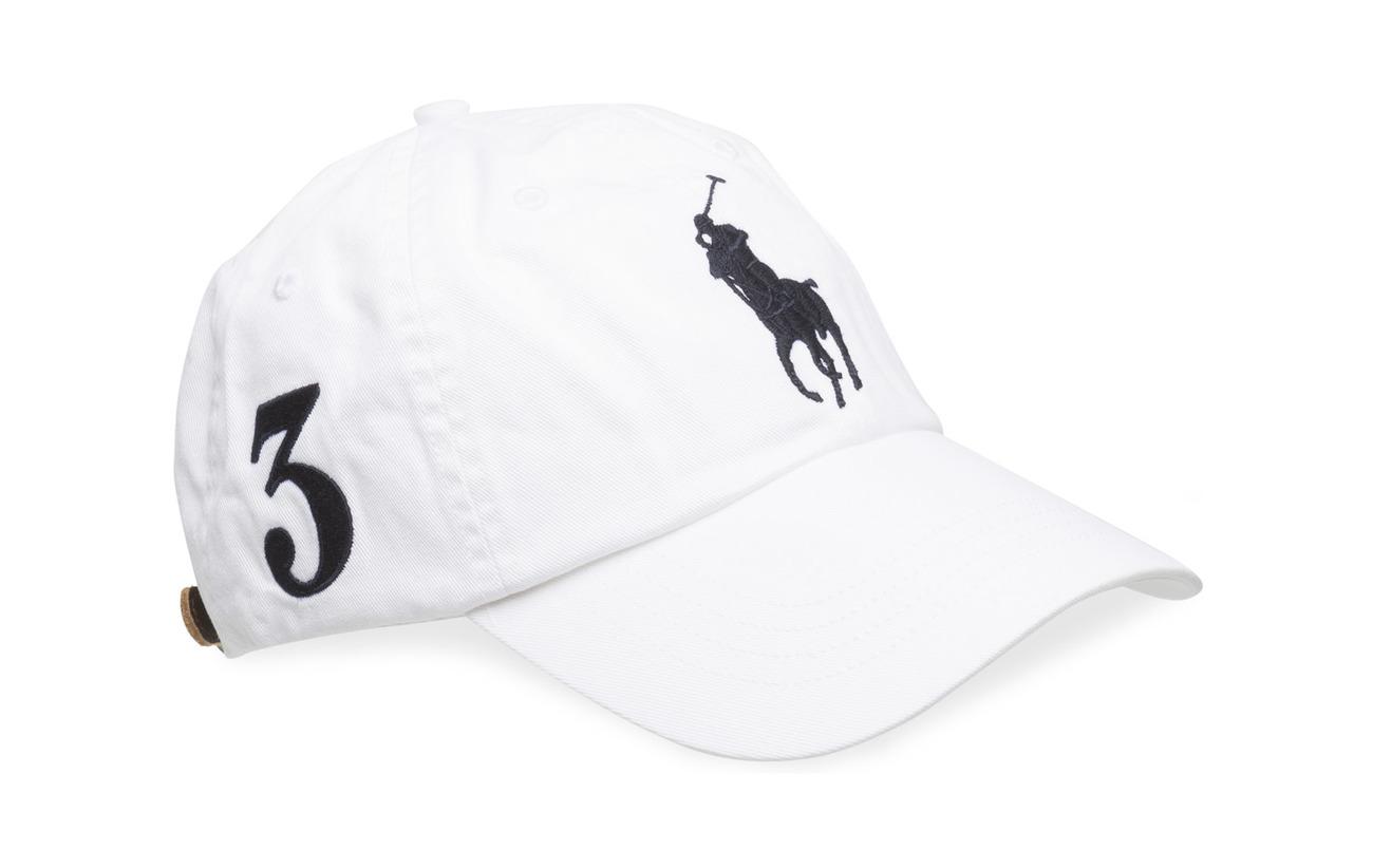 Cotton Chino Baseball Cap (White) (£45) - Polo Ralph Lauren ... 53989810100