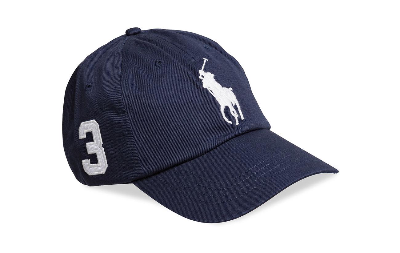 Polo Ralph Lauren Cotton Chino Baseball Cap - NEWPORT NAVY