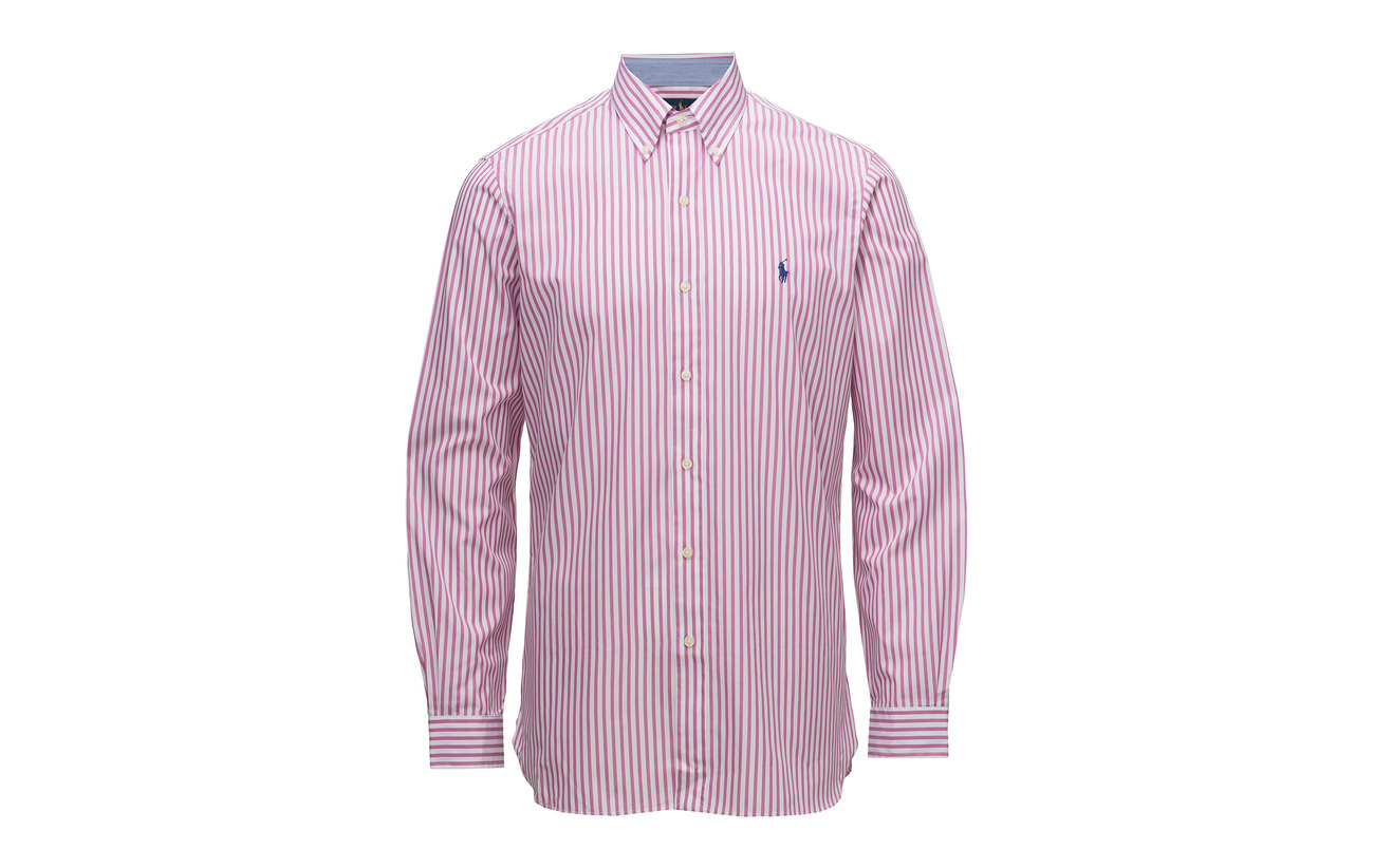 Poplin w Pink Polo Rose Shirt Classic Cotton Ralph Fit 2185b Lauren qXxSF7wXC