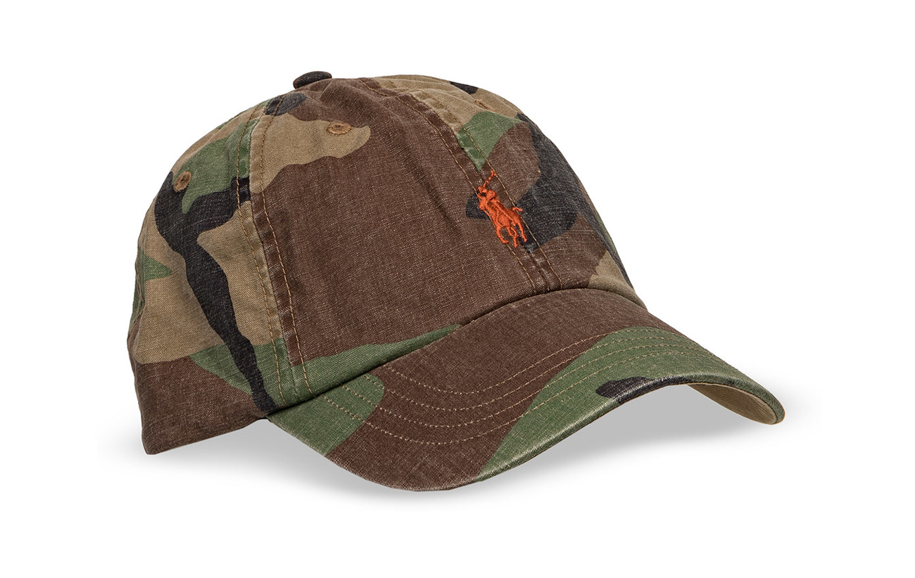 Camo Cotton Chino Cap (Surplus Camo) (£29.25) - Polo Ralph Lauren ... c14e636853a