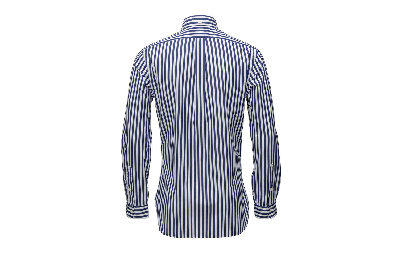 2317a Ralph Polo Lauren white longsleeve Sl3bdspt Blue sportshirt wOwXAqv