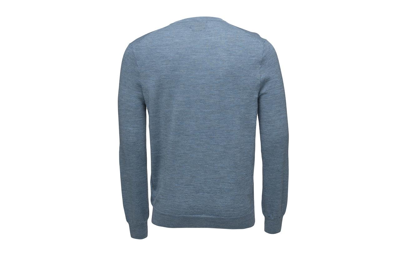 Granite Dark Polo Merino Sweater Slim Lauren Heat Washable Ralph R0w6zRq