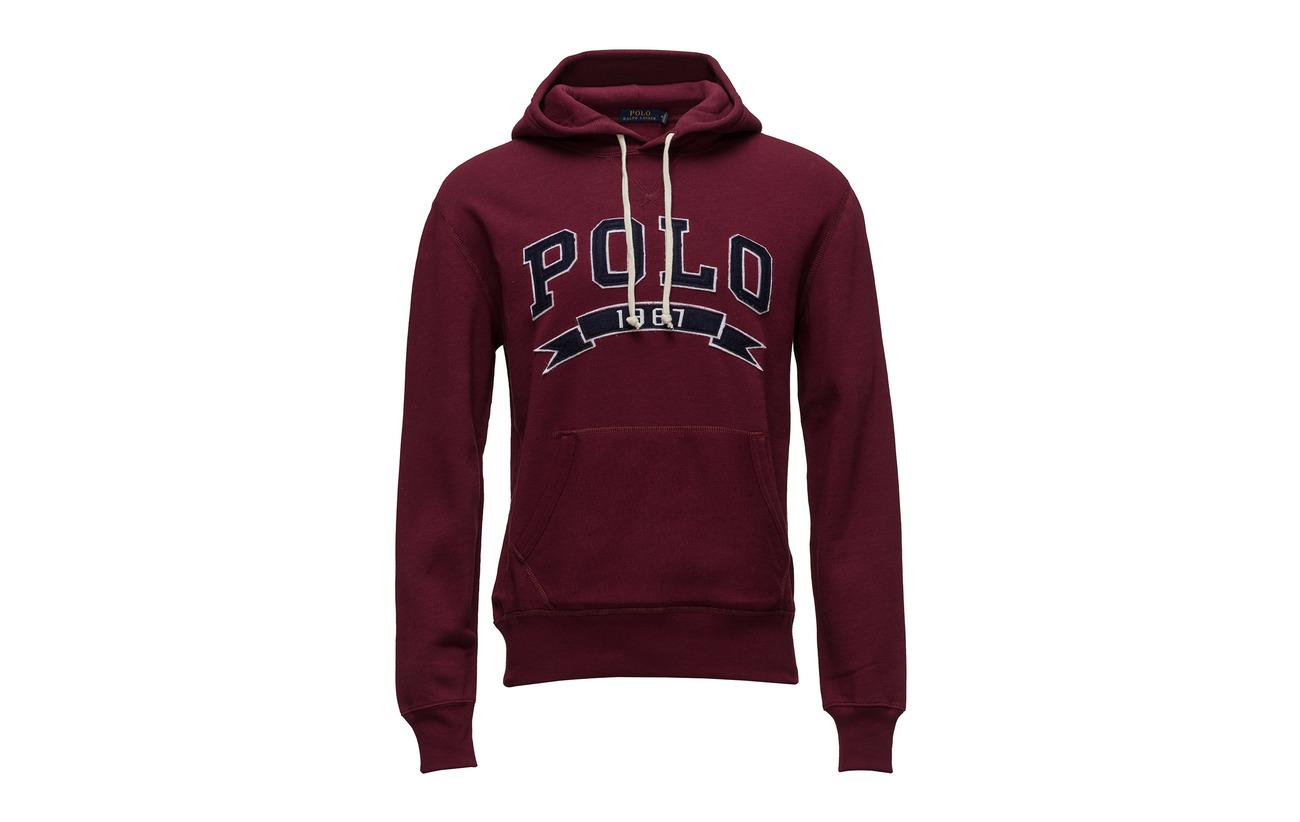 Polo Lauren Hoodie blend Cotton fleece Navy Ralph Cruise 5ryqpKc5