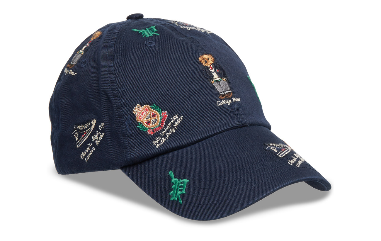 52cb61461021a Outdoors Bear Baseball Cap (Aviator Navy W  B) (69.95 €) - Polo ...