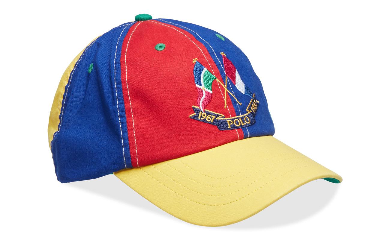 Sprt Ralph Flag Lauren Cap Cls StripePolo hatcross Y7bgvfy6