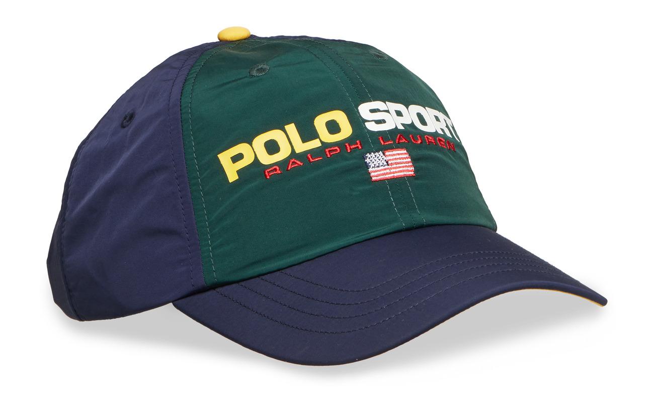 Polo GreenCrRalph Nylon Capcollege Sport Lauren OwPn0k
