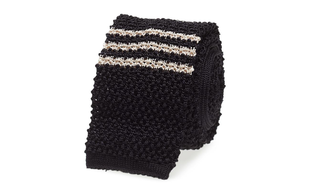 Polo Ralph Lauren KNT-NECKTIE - BLACK/OFF WHITE